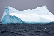 Iceberg (courtesy Ben Moat, National Oceanography Centre)