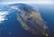 Aerial view of La Palma