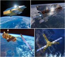 European Space Agency's satellites (credit: ESA)