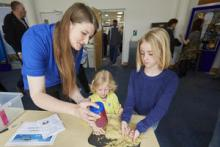 Glitter and Sand, explaining the science of seas at NOC Open Day 2016