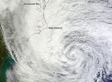 Hurricane Sandy off the Cayman Trough (courtesy of NASA Earth Observatory)