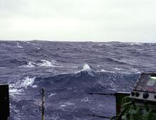The exchange of gases between the oceans and the atmosphere has an important influence on climate